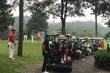Xe điện nối đuôi nhau chở khách vào sân golf: Lãnh đạo huyện Tam Đảo nói gì?