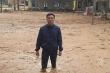 Ảnh: Trường học ngập trong lớp bùn dày nửa mét sau lũ