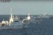 Nhật Bản tung video tố cáo tàu Trung Quốc xâm nhập Senkaku/Điếu Ngư