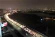 Sinh viên quay trở lại Thủ đô, xe cộ ùn tắc hàng giờ  ở đường trên cao trong đêm
