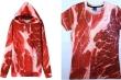 Áo  in hình thịt lợn 200.000 đồng/chiếc: Kỳ dị vẫn hút khách, 'cháy hàng'