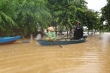 Ảnh: Lũ dâng, hàng trăm hộ dân vùng trũng ở Hội An chìm trong biển nước