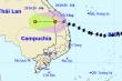 Sau nhiều giờ càn quét đất liền, bão số 9 suy yếu thành áp thấp nhiệt đới