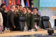 Đại tướng Ngô Xuân Lịch gặp Bộ trưởng Quốc phòng Mỹ bên lề ADMM