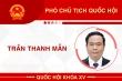 Infographic: Sự nghiệp Phó Chủ tịch Quốc hội Trần Thanh Mẫn