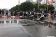Xe Mercedes đâm liên hoàn rồi bốc cháy: Nạn nhân thiệt mạng là thạc sỹ, thực tập sinh trường Ngoại thương
