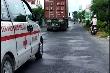 Truy tìm tài xế container không cho xe cứu thương vượt dù hú còi suốt 5km