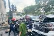 9 ô tô đâm liên hoàn trên QL1A ở Thanh Hóa, ít nhất 3 người thương vong