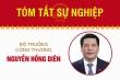 Infographic: Sự nghiệp Bộ trưởng Công Thương Nguyễn Hồng Diên