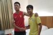 Đấm rách mắt cầu thủ Trung Quốc, đàn em Quang Hải đến phòng riêng xin lỗi