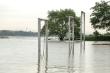 Ảnh:  Thủy điện xả lũ, nước sông Hồng, sông Đuống dâng cao