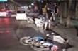 Truy tìm chiếc ô tô tông người trọng thương rồi bỏ trốn trên phố Thủ đô