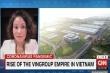 11 phút trực tiếp quý như 'vàng ròng' của Vingroup trên CNN