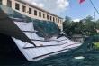 Giông lốc làm tốc mái trường THPT ở TP.HCM, 2.000 học sinh nghỉ học
