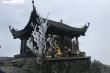 Băng tuyết bao phủ chùa Đồng trên đỉnh non thiêng Yên Tử