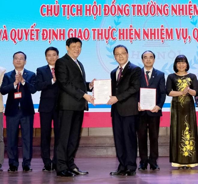 Hiệu trưởng Đại học Y Hà Nội làm Chủ tịch Hội đồng trường - 1