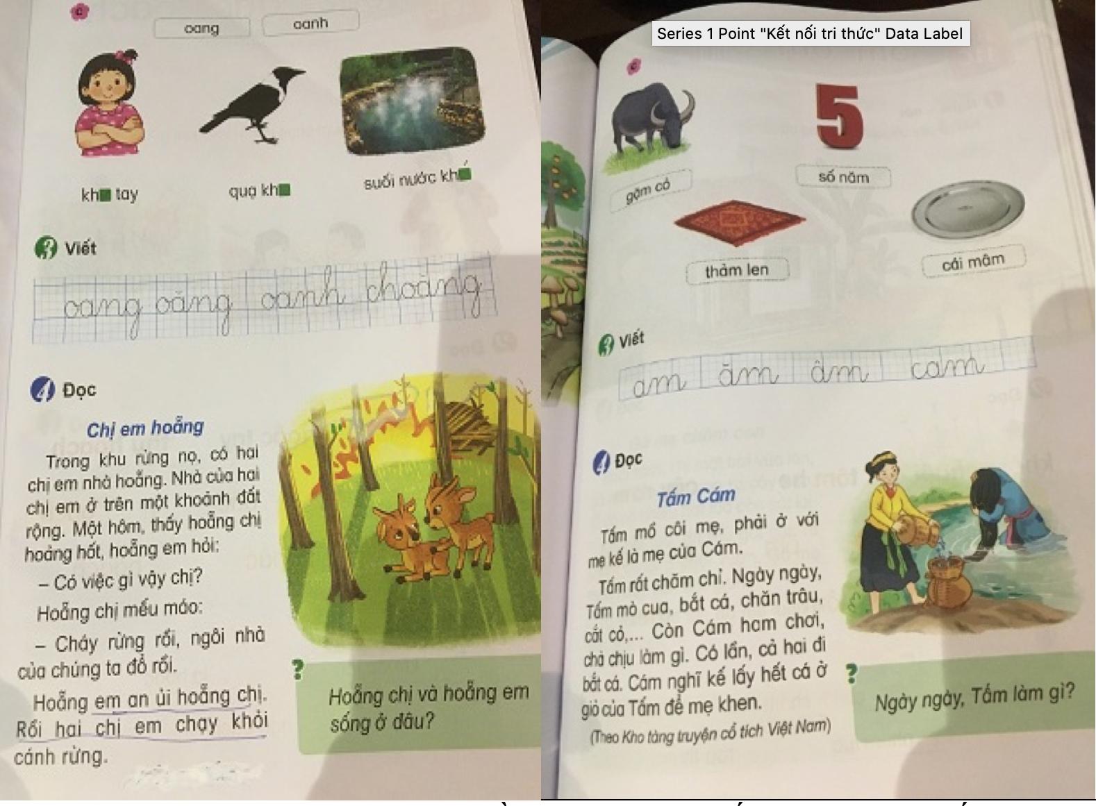 Phát hiện thêm một cuốn sách giáo khoa Tiếng Việt 1 chi chít 'sạn' - 2