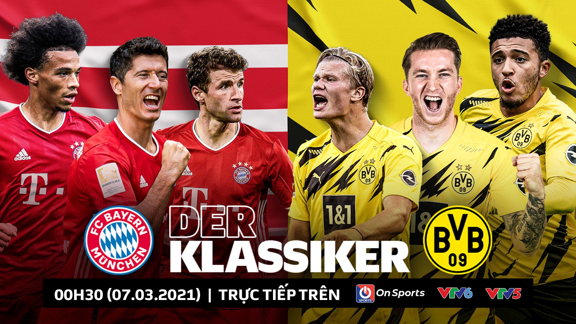 Bayern Munich vs Dortmund: Tin tức, thống kê, dự đoán tỷ số, đội hình ra sân